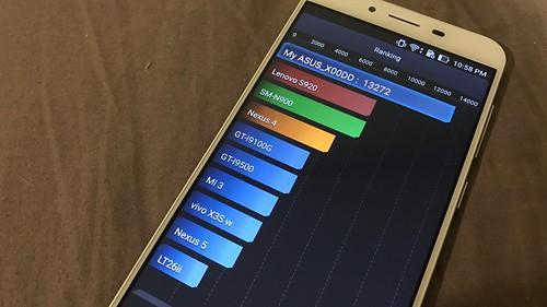 คะแนนการทดสอบแบตเตอรี่ของ ASUS Zenfone 3 Max ZC553KL