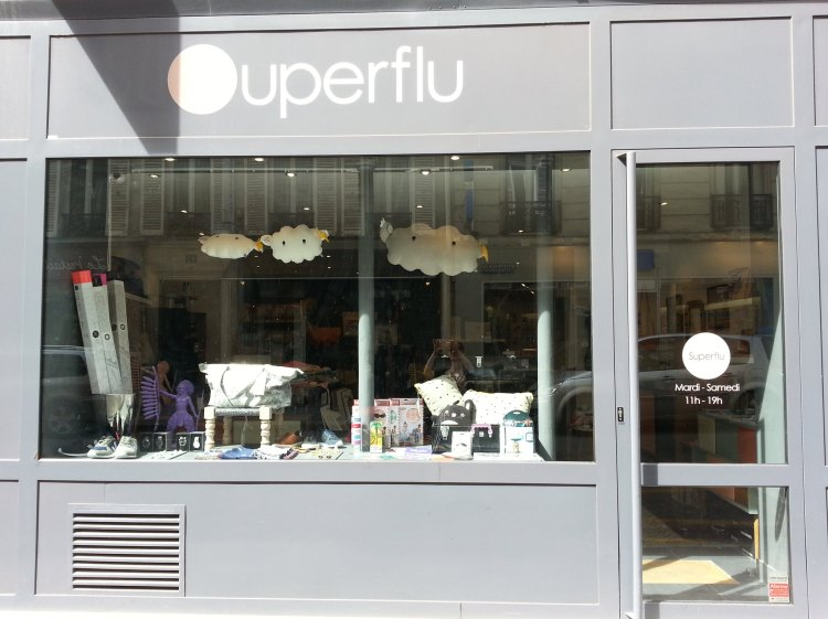 Superflu, boutique # Batignolles Paris