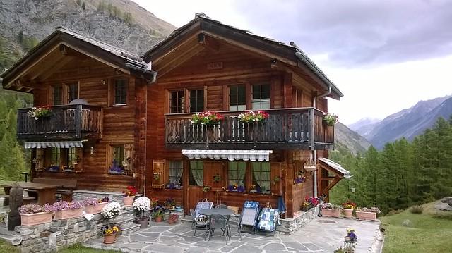numbered house on furi trail zermatt