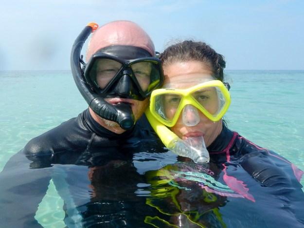 Snorkel selfie. Hatta, Banda Islands