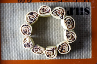 ring of rugelach spirals