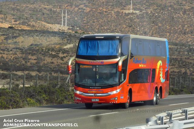 Pullman Bus Tandem - Norte Chico - Marcopolo Paradiso 1800 DD / Mercedes Benz (DWWB16)