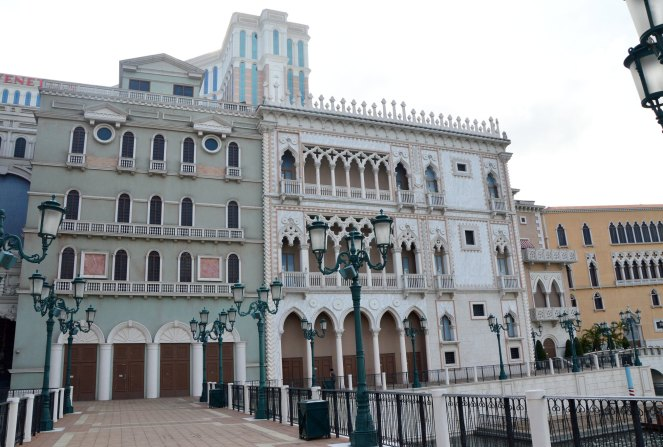 The Venetian Macao, architecture, photography