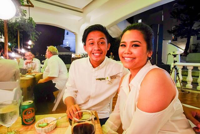 SamTin at Tierra Alta for Ate Kat and Rusty's wedding