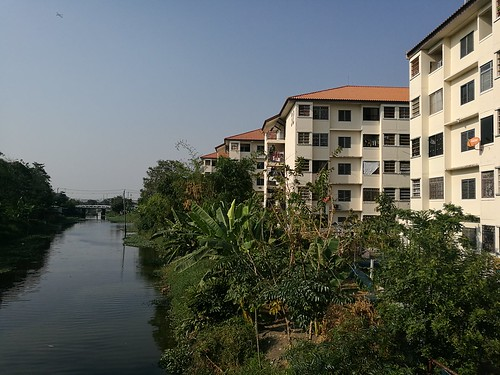 klong Water Reflection Building Exterior Nature Day Extreme Weather Outdoors No People Klong Channel Residential Building Residential District Travel Destinations