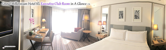 Grand Millennium KL Executive Club Room Panorama