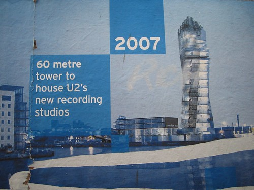 New U2 recording studio poster (update: design has changed) by infomatique
