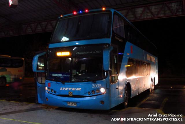 Inter Sur - Temuco - Busscar Panorâmico DD / Mercedes Benz (BBSX39)