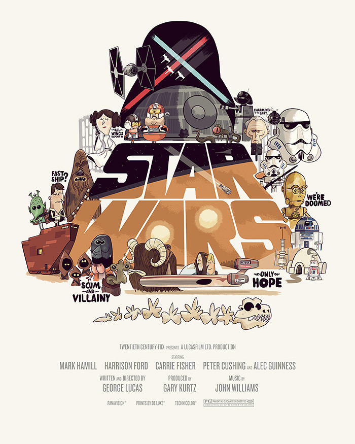 Star Wars Episode IV: A New Hope by Christopher Lee