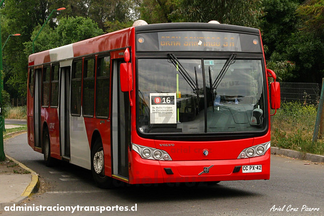 Transantiago - Buses Gran Santiago - Caio Mondego L / Volvo (CCPX42)