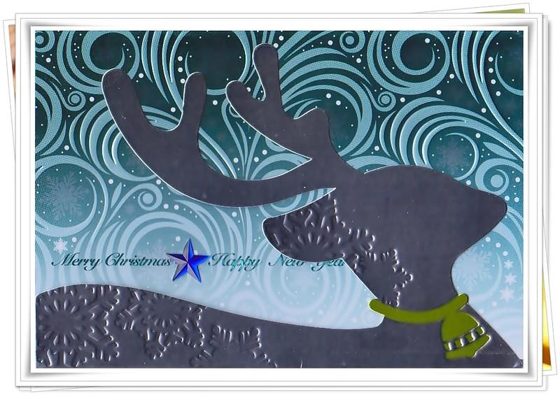 老友的聖誕卡(Xmas card)