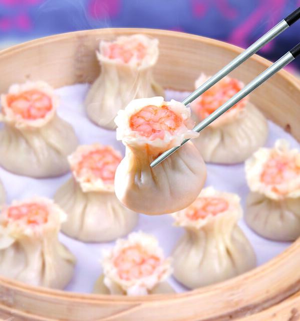 Steamed Shrimp and Pork Xiao Mai