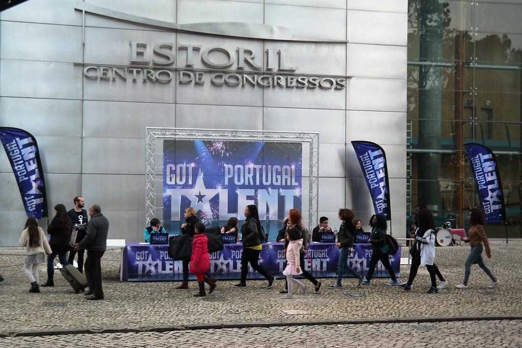 Got Talent Portugal no Estoril