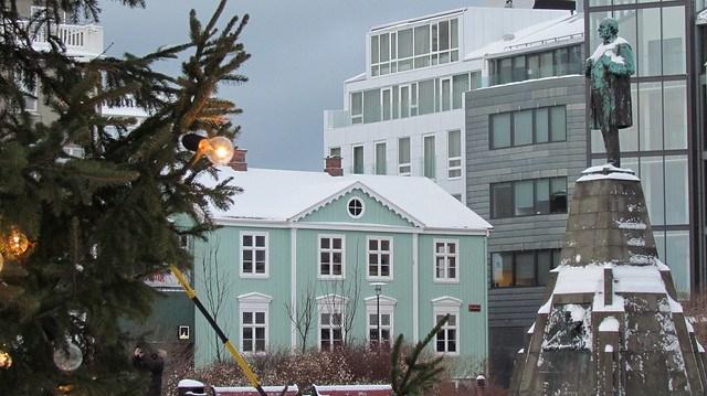 Wintery Reykjavik