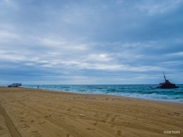 Stockton Sand Dune, Nelson Bay