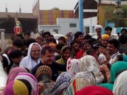 Welcome Sain Sadhram Sahib at Pooj Raherki Sahib (7)
