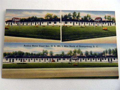 Azalea Motor Court Orangeburg front