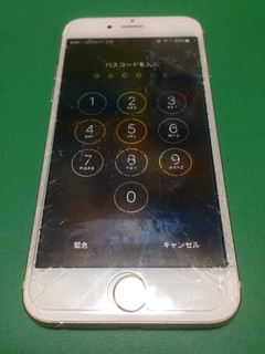 212_iPhone6Sのフロントパネルガラス割れ