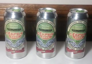 Aspen Beer Can