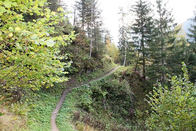 Traversée Montenvers-Plan de l'Aiguille trail