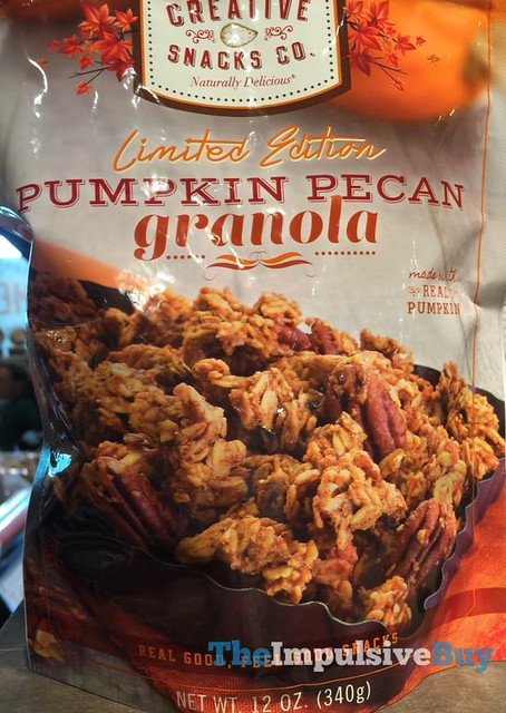 Creative Snack Co Limited Edition Pumpkin Pecan Granola