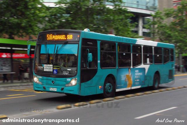 Transantiago - Metbus - Caio Mondego H / Mercedes Benz (BJFV43) (529)