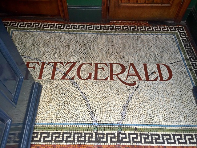 Bridge Hotel Doorwell Mosaic