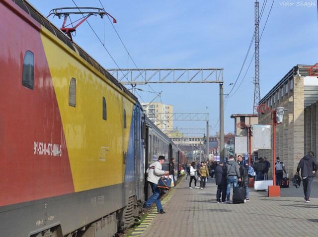 Train Constanta - March 2017
