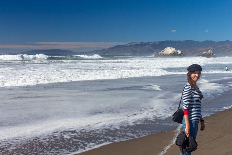 10.10. Ocean beach: Sandcastles contest