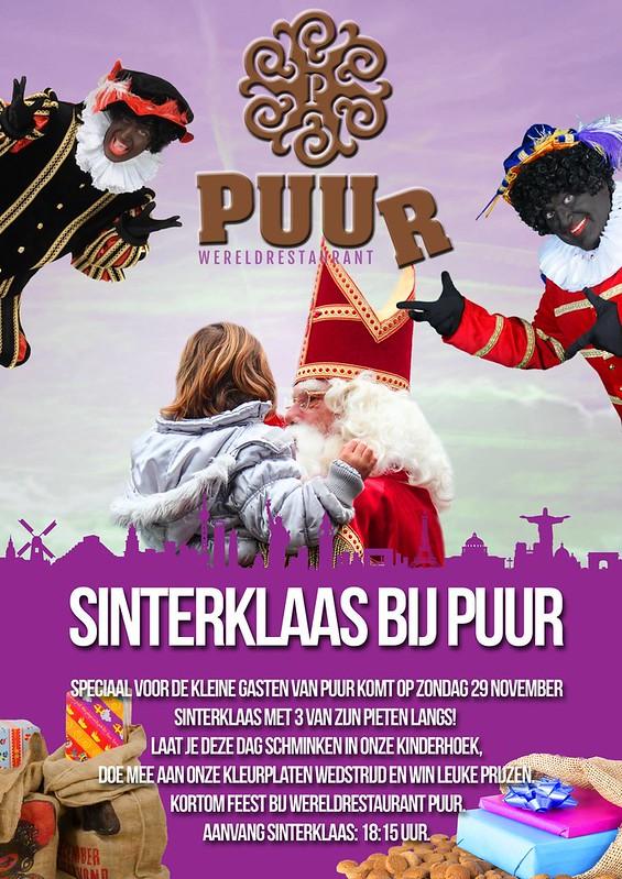 Sinterklaas bij Wereldrestaurant Puur 2015