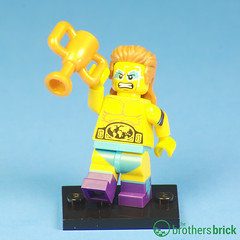 Collectible Minifigs Series 15 Wrestling Champion