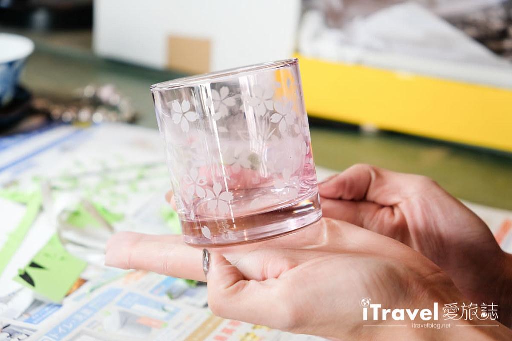 东京手作课程 喷砂玻璃工艺体验 54