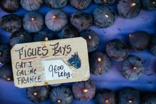 Market in Lourmarin: figs