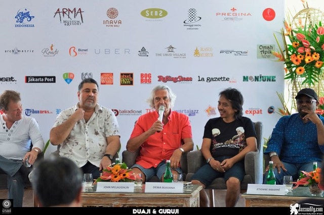 JohnMcLaughlin-at-presscon-Agus-Wiryadhi-Saidi