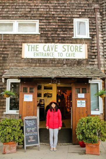 La Jolla Cave Store, the entrance to a hidden La Jolla Attraction: the Sunny Jim Cave.