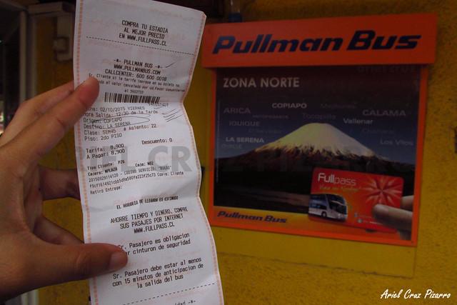 Pasaje Pullman Bus Atacama Vip - BYXP70