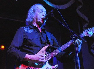 Eric Bell at the Empire Music Hall, Belfast, 15 November 2015