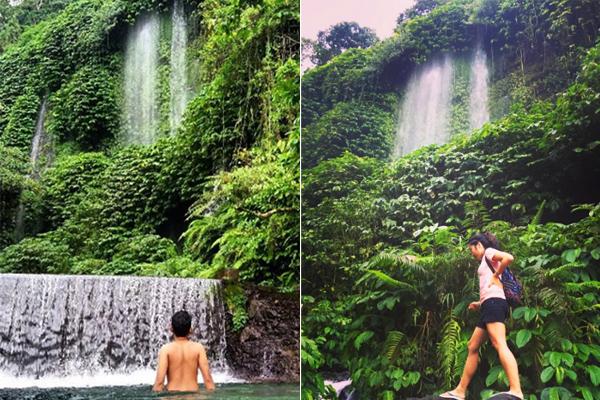 Benang Kelambu waterfall 2