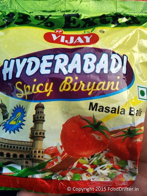 Hyderabadi Biryani Flavor Snacks