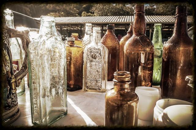 Liniment Bottles
