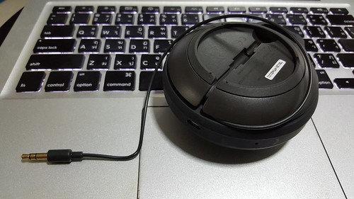 JBL Clip+ มาพร้อมกับสาย audio 3.5 มม. ในตัว