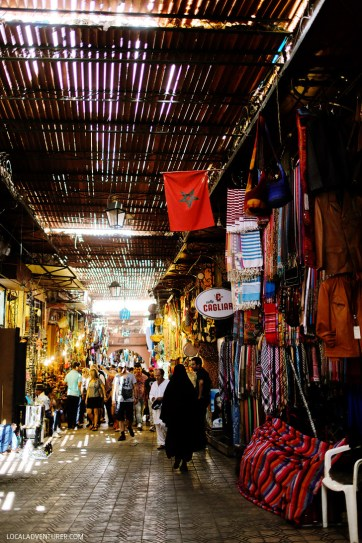 Marrakech Souk (21 Fascinating Things to Do in Marrakech Morocco).