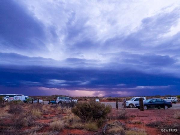 Thunderstorms at Uluru