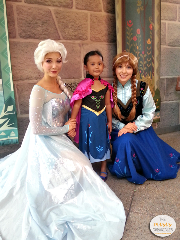 elsa and anna meet and greet