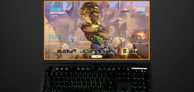 Overwatch BlackWidow गेमिंग कुंजीपटल