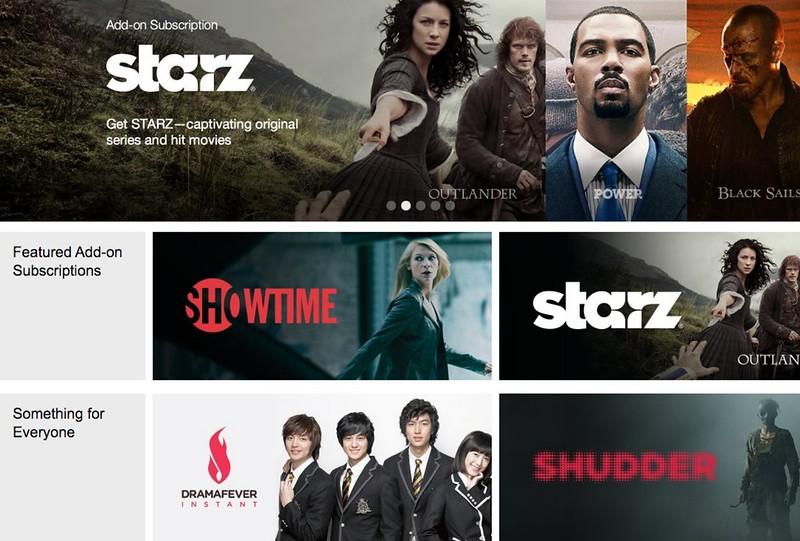 What and how to subscribe to Amazon Video Add-on Subscriptions