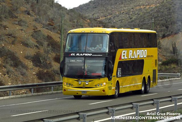 El Rápido Internacional - Norte Chico - Busscar Panorâmico DD / Volvo (GZB425) (1028)