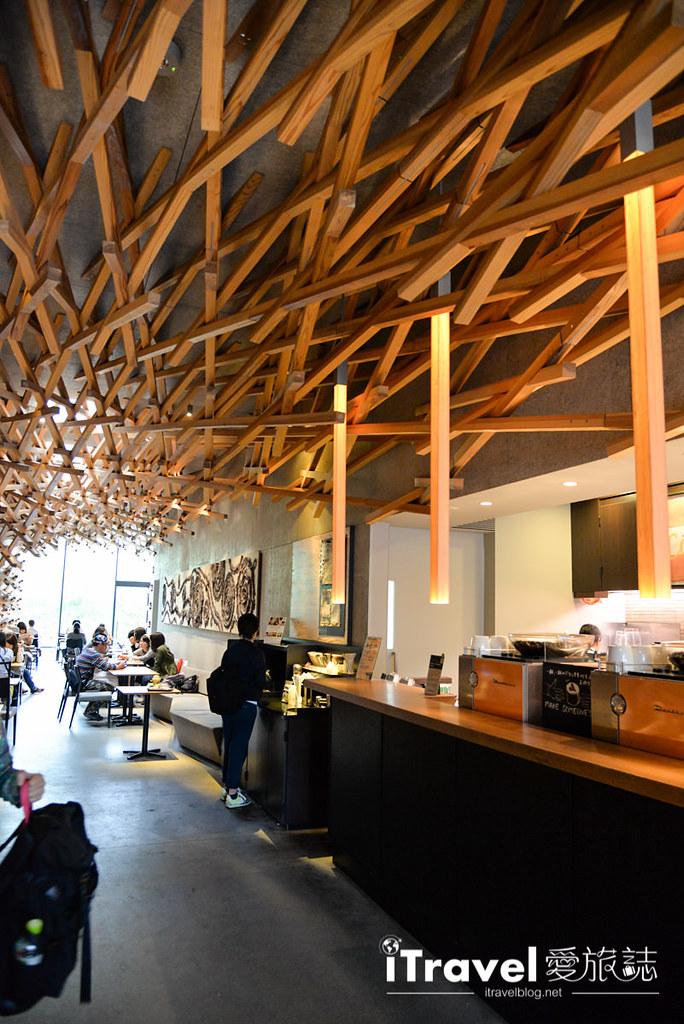 《福冈景点推荐》太宰府星巴克:建筑师隈研吾融合在地风貌环境,精心设计唯一不二。
