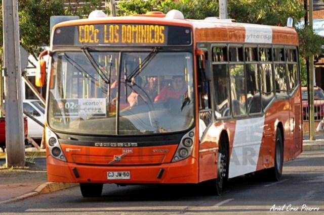 Transantiago - Redbus Urbano - Neobus Mega LE / Volvo (CJJW60) (294)
