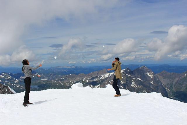 Mount Titlis, Switzerland; Mount Titlis Summer